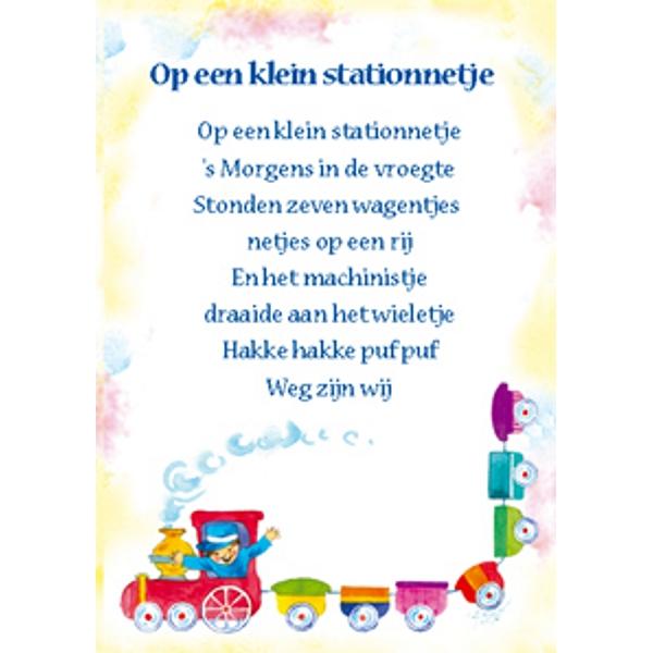 """ecobos magasin :: carte de v. """"op een klein stationnetje"""""""